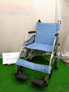 【中古車椅子】《Aランク》松永製作所 介助式車椅子 MW-SL2 (WC-NB00325)