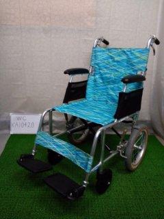 【中古車椅子】《Aランク》日進医療器 軽量・介助式車椅子 NAH-L7 (WC-KA10420)