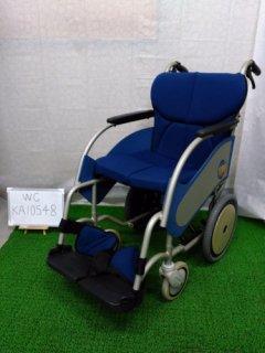 【中古車椅子】《Aランク》松永製作所 介助式車椅子 オアシス OS-02 (WC-KA10548)