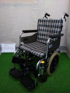 【中古車椅子】《Aランク》ミキ 介助式車椅子 SKT-6(WC-K910366)