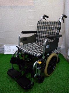 【中古車椅子】《Aランク》ミキ 介助式車椅子 SKT-6(WC-KA10319)