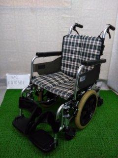 【中古車椅子】《Aランク》ミキ 介助式車椅子 SKT-6(WC-K810601)