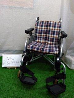 【中古車椅子】《Bランク》松永製作所 介助式車椅子 AR-900(介助)(WC-K810474)