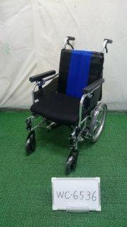 【中古車椅子】《Bランク》ミキ 介助式車椅子 MM-Fit Lo16 (WC-6536)