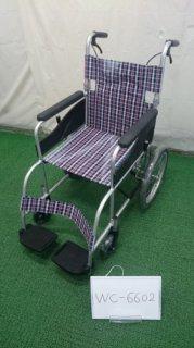 【中古車椅子】《Bランク》日進医療器 自走式車椅子 NEO-2 (WC-6602)