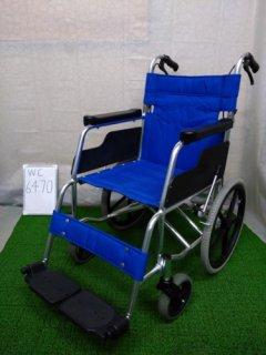 【中古車椅子】《Bランク》松永製作所 介助式車椅子 MW-15SA (WC-6470)