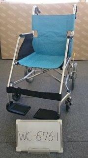 【中古歩行器】《Bランク》松永製作所 介助式車椅子 USL-2B(WC-6761)