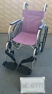 【中古車椅子】《Bランク》松永製作所 自走式車椅子 SA-110 (WC-6777)