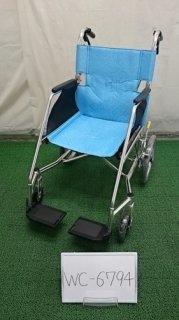 【中古歩行器】《Bランク》松永製作所 介助式車椅子 USL-2B(WC-6794)