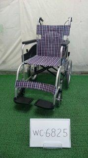 【中古車椅子】《Aランク》日進医療器 自走式車椅子 NEO-2 (WC-6825)