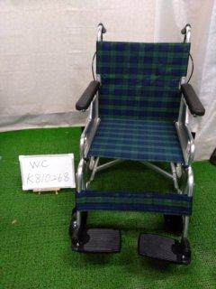 【中古車椅子】《Bランク品》日進医療器 自走式車椅子 スリーウェイNA-M3(42幅) (WC-K810268)