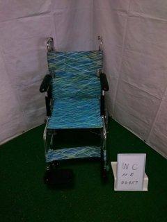 【中古車椅子】《Aランク》日進医療器 軽量・介助式車椅子 NAH-L7 (WC-NE00457)