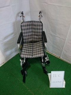 【中古車椅子】《Bランク》ミキ 介助式車椅子 SKT-7(WC-NC01929)