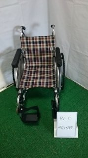 【中古車椅子】《Bランク》松永製作所 自走式車椅子 AR-500 (WC-NC02754)