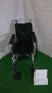 【中古車椅子】《Bランク品》日進医療器 自走式車椅子 EX-M3 (WC-ND01571)