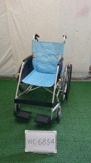 【中古車椅子】《Aランク》松永製作所 自走式車椅子 USL-1B (WC-6854)
