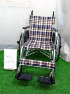 【中古車椅子】《Aランク》松永製作所 自走式車椅子 AR-201B(WC-6894)