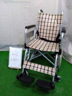 【中古車椅子】《Aランク》カワムラサイクル 介助式車椅子  KAK16-40 こまわりくん(介ブレ無)(WC-6885