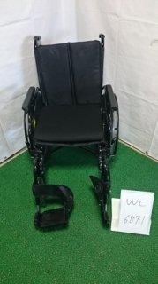 【中古車椅子】《Bランク》ミキ 自走式車椅子 KJP-5 (WC-6871)