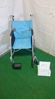 【中古歩行器】《Bランク》松永製作所 介助式車椅子 USL-2B(WC-6867)