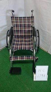 【中古車椅子】《Bランク》松永製作所 自走式車椅子 AR-201B(WC-6798)