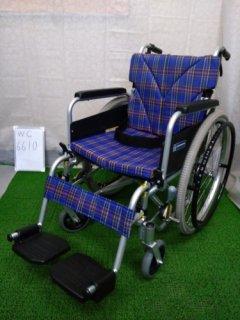 【中古車椅子】(Bランク)カワムラサイクル 自走式車椅子 KA822B-N2 (WC-6610)