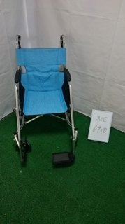 【中古歩行器】《Bランク》松永製作所 介助式車椅子 USL-2B(WC-6908)