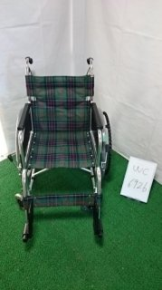 【中古車椅子】《Bランク》松永製作所 自走式車椅子 AR-201B(WC-6926)