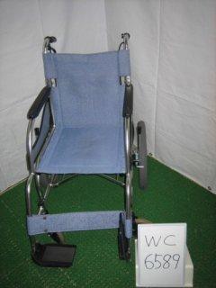 【中古車椅子】《Bランク》松永製作所 介助式車椅子 MW-SL2 (WC-6589)