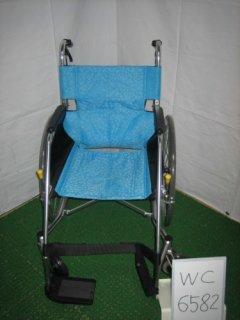 【中古車椅子】《Bランク》松永製作所 自走式車椅子 USL-1B (WC-6582)