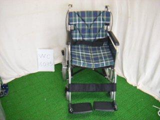 【中古車椅子】《Bランク》カワムラサイクル 介助式車椅子 BM16-40SB-M(WC-6035)
