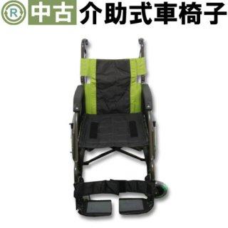 【中古車椅子】《Bランク》パナソニック 介助式車椅子 ルッタ VA10134(WC-6246)