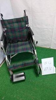 【中古車椅子】《Sランク》松永製作所 介助式車椅子 AR-380(WC-6716)