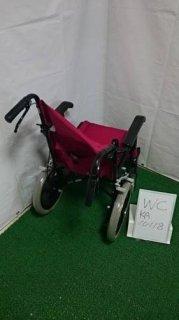 【中古車椅子】《Bランク》日進医療器 介助式車椅子 TH-2SB (WC-KA10118)