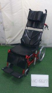 【中古車椅子】《Aランク品》カワムラサイクル リクライニング車椅子 KPF16-40 LO (WC-6627)