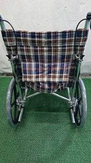 【中古車椅子】《Bランク》松永製作所 介助式車椅子 AR-300(WC-6952)