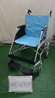 【中古歩行器】《Bランク》松永製作所 介助式車椅子 USL-2B(WC-6969)