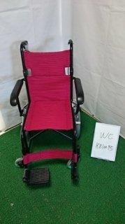 【中古車椅子】《Bランク》日進医療器 介助式車椅子 TH-2SB (WC-K810095)