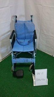 【中古車椅子】《Bランク》松永製作所 介助式車椅子 REM-4 (WC-K810550)