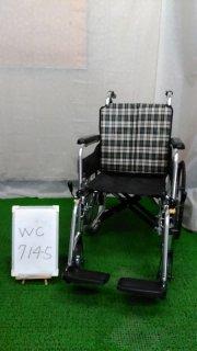 【Bランク 中古 車椅子】ミキ 自走式車椅子 SKT-4LO (WC-7145)