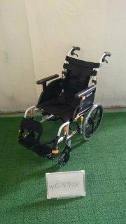 【Bランク品 中古 車椅子】松永製作所 介助式車椅子 ネクストコア NEXT-61B (WC-5748-2)
