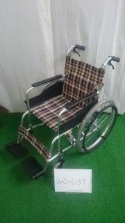 【Bランク 中古 車椅子】松永製作所 自走式車椅子 AR-200B (WC-6137)