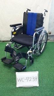【Aランク 中古 車椅子】ミキ 自走式車椅子 MM-Fit Lo20 (WC-7239)
