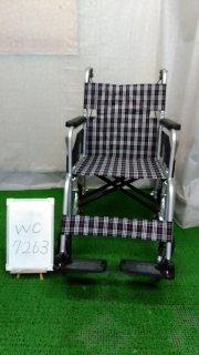 【Aランク 中古 車椅子】 日進医療器 介助式 車椅子 NC-2CB (WC-7263)