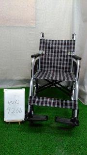 【Aランク 中古 車椅子】 日進医療器 介助式 車椅子 NC-2CB (WC-7266)