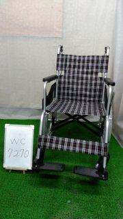 【Aランク 中古 車椅子】 日進医療器 介助式 車椅子 NC-2CB (WC-7270)