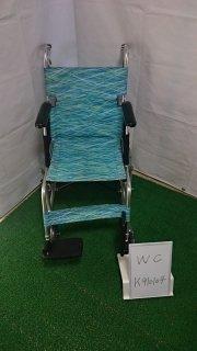【Bランク品 中古 車椅子】日進医療器 介助式車椅子 NAH-L7(WC-K910104)
