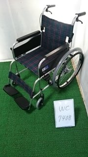 【Bランク 中古 車椅子】ミキ 自走式車椅子 MPN-43JD (WC-7408)