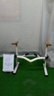 【Bランク 中古 手すり】アロン化成 洋式トイレ用フレーム S-はねあげR 533082  (OT-7339)