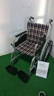 【Bランク 中古 車椅子】松永製作所 自走式車椅子 AR-200B (WC-7096)